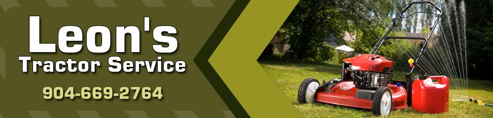 Lawn Maintenance - Saint Augustine, FL - Leon's Tractor Service