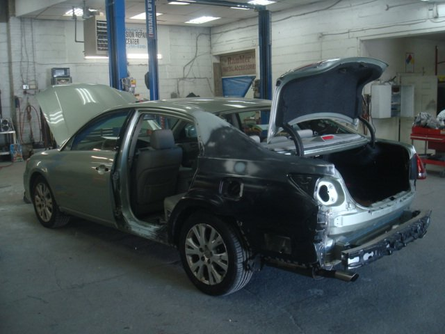 Collision Repair Services Before