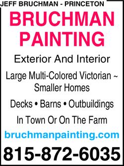 Bruchman Painting | Princeton, IL | 815-872-6035