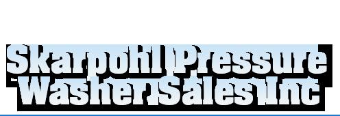 Pressure washers | Mankato, MN | Skarpohl Pressure Washer Sales Inc | 507-625-2844