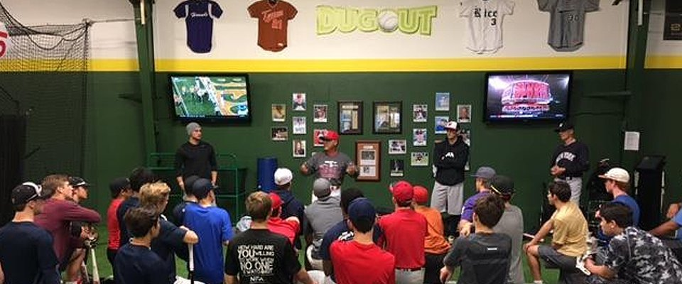 Dugout of Boerne classes training