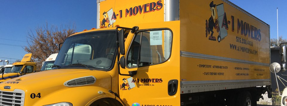 A-1 movers truck