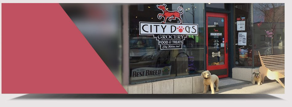 Store Front | Indianapolis, IN | City Dogs Grocery  | 317-926-3647