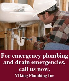 Plumber - Atwater, OH - VIking Plumbing Inc - For emergency plumbing and drain emergencies, call us  now.
