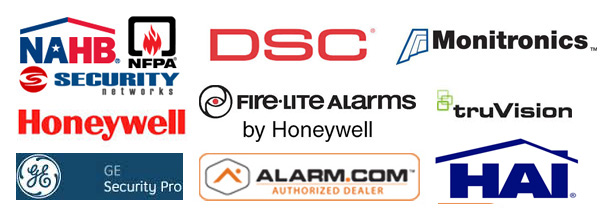 NAHB, NFPA, Security Networks, Honeywell, GE, DSC, Monitronics, Fire.Lite Alarms, Alarm.com, truvision, Hai