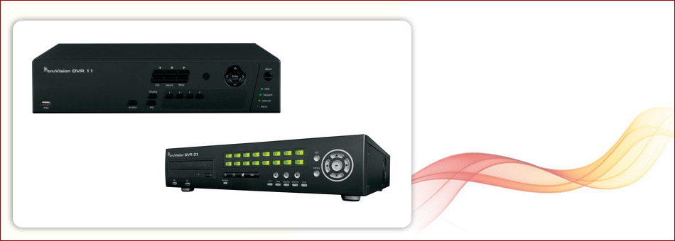 DVR and NVR recorders