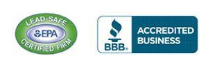 EPA Lead-Safe Certified Firm | BBB logo