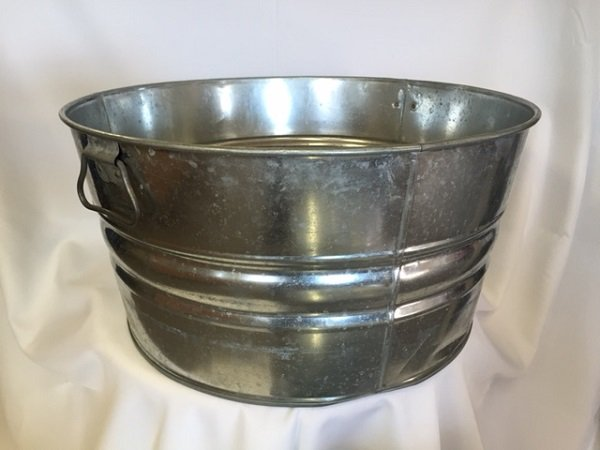 Galvanized Metal Beverage Tub