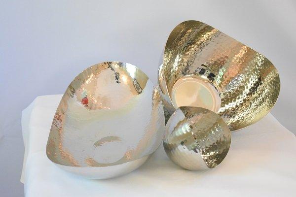 Hammered Steel Bowls
