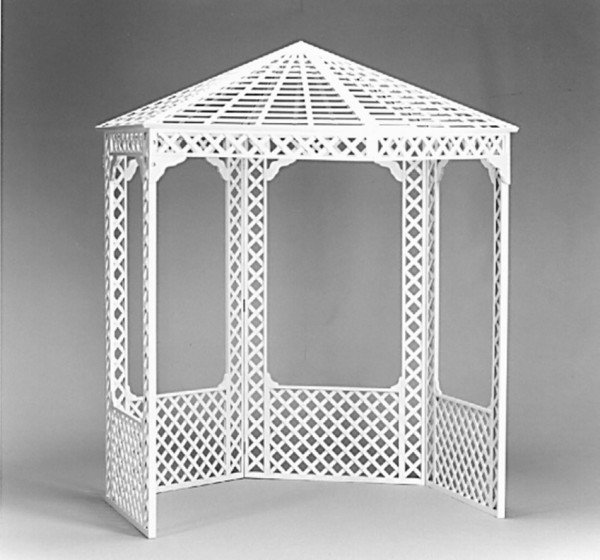 Lattice Gazebo