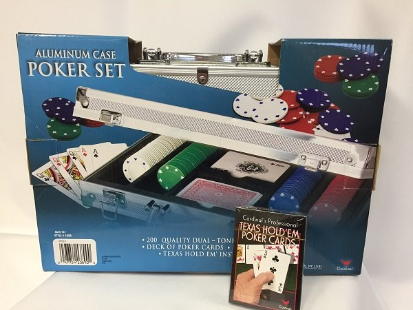 Poker Set  For Rent