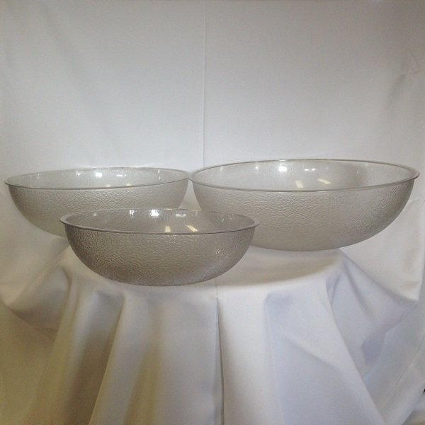 Acrylic Serving Bowls
