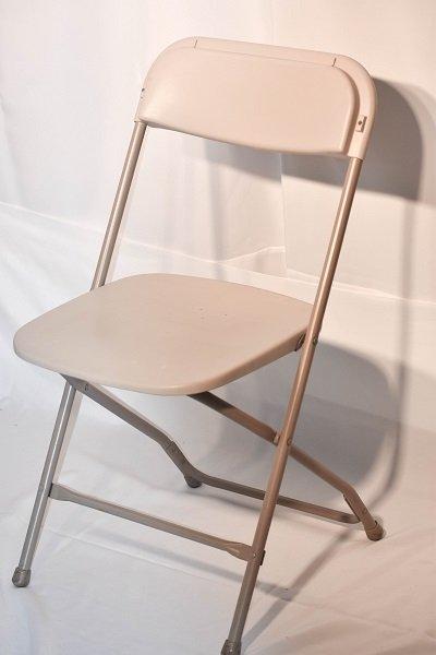 Tan Folding Chair
