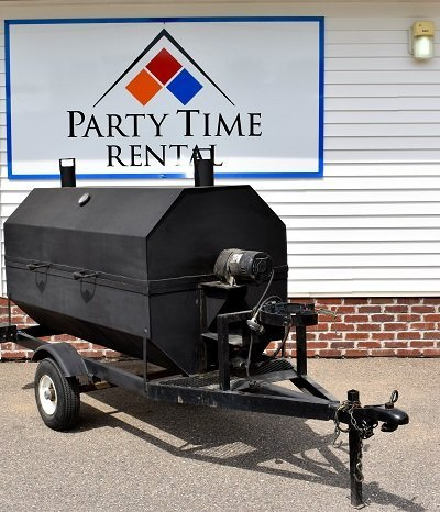 Towable Grill with Hood