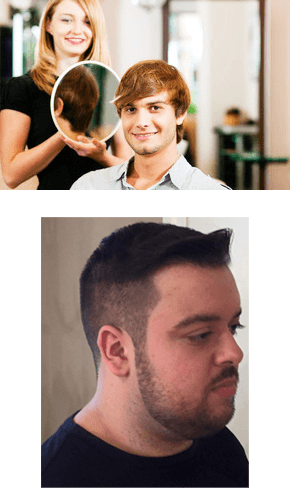 Male new haircut
