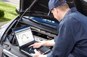 Computer diagnostics of car