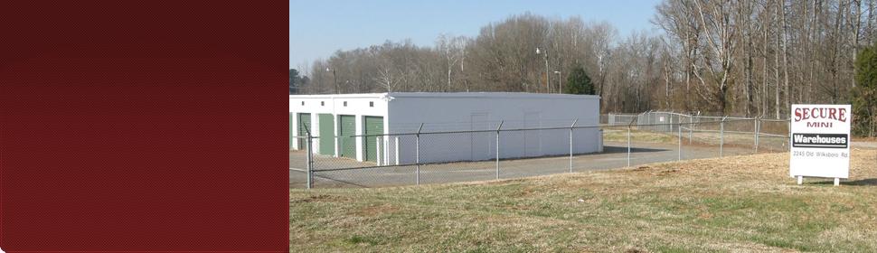Storage units beyond a gate