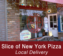 Restaurant - Seal Beach, CA - Slice of New York Pizza