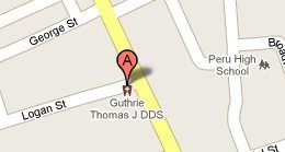 Thomas Guthrie J DDS PC - 5 W Logan St  Peru, IN 46970