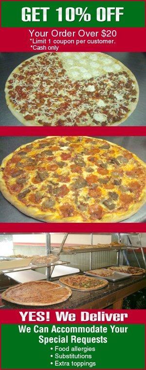 Pizza - New Rochelle, NY - Terranova Brick Oven Pizzeria & Restaurant