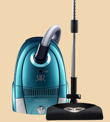 Pizzazz Canister Vacuum with Full Size Power Nozzle