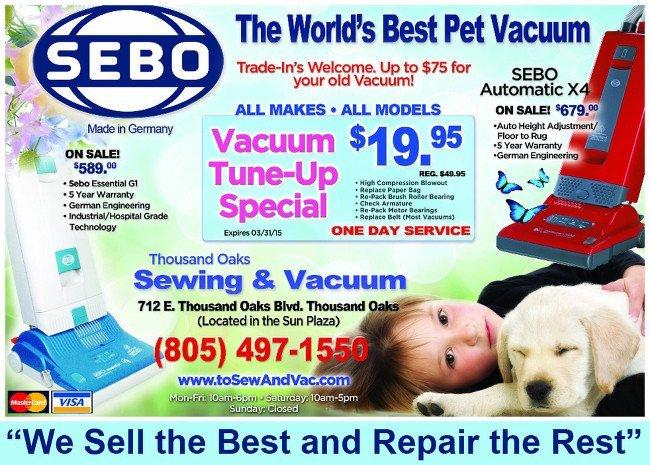 SEBO Print ad