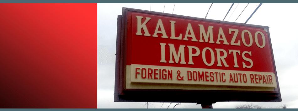 Kalamazoo Imports sign
