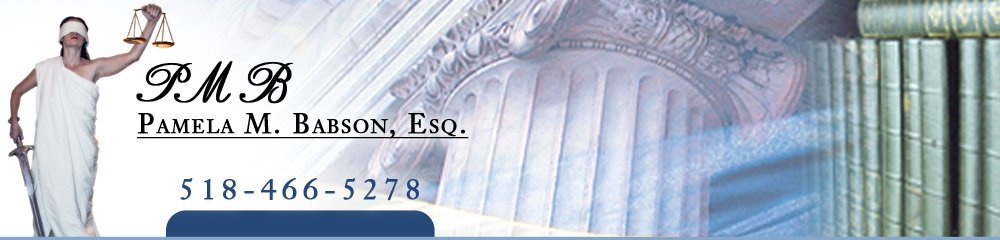 Attorney at Law Saratoga Springs, NY - Pamela M. Babson, Esq.