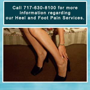 Heel Pain - Hanover, PA  - Cherry Tree Foot & Ankle Specialists PC - Call 717-630-8100 for more information regarding our Heel and Foot Pain Services.