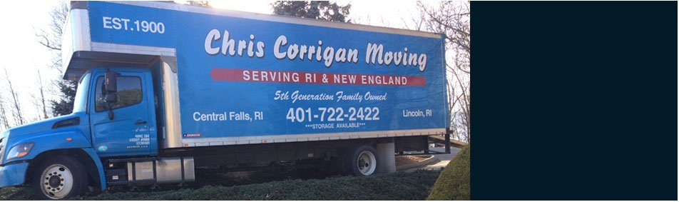 Professional Movers | Central Falls , RI | Chris Corrigan Moving Inc | 401-722-2422