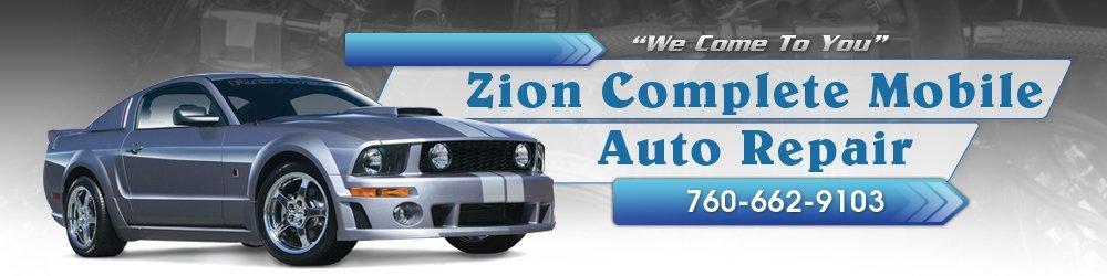 Auto Repair Services - Hesperia, CA - Zion Complete Mobile Auto Repair