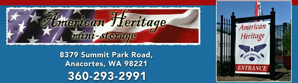 Mini Storage Units - Anacortes, WA - American Heritage Mini Storage