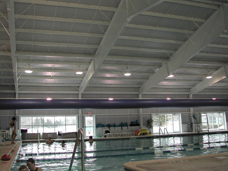 Design and install new pool lighting