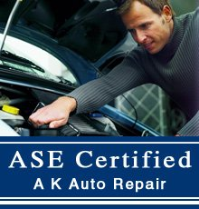 Auto Service - Johnstown, PA - A K Auto Repair 0- ASE Certified