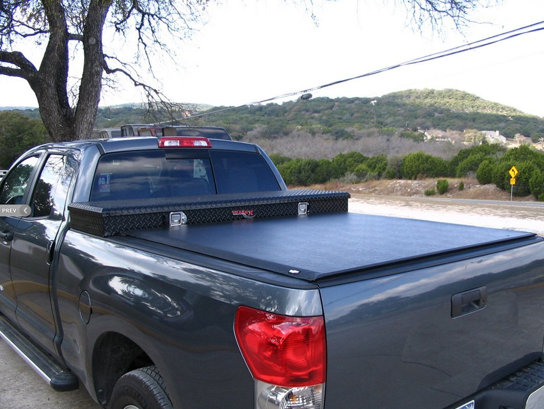 Truck with durable cover
