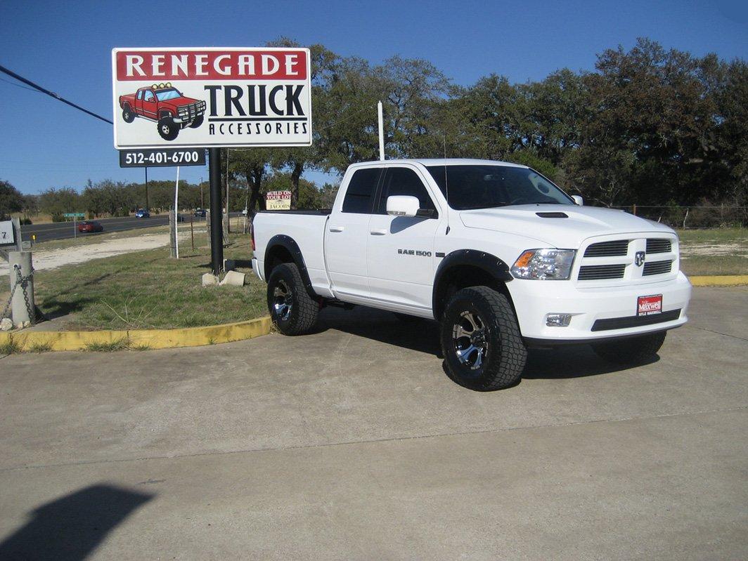 White pick-up