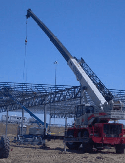 crane working