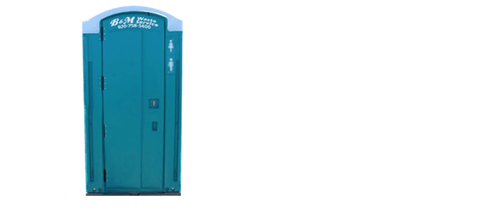 Porto Potties | Manitowoc, WI | B & M Waste Service Inc. | 920-758-3400