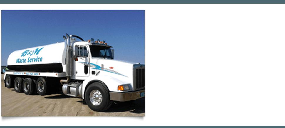 B & M Waste Service Inc  - Septic Service | Manitowoc, WI