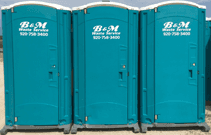 Portable Toilet Rental | Manitowoc, WI | B & M Waste Service Inc. | 920-758-3400