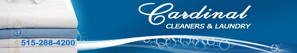 Dry Cleaning Service and More - Des Moines, IA - Cardinal Cleaners & Laundry