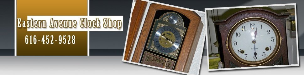 wall clock - Grand Rapids, MI - Eastern Avenue Clock Shop