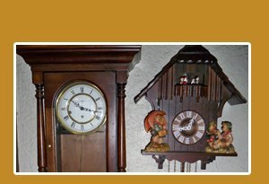 grandfather clock - Grand Rapids, MI - Eastern Avenue Clock Shop - Antique Clocks - 10% off repair with coupon.