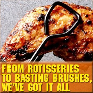 Grill Accessories - Cedar Rapids, IA - The Grill Works - beef kebab - From Rotisseries To Basting Brushes, We've Got It ALL