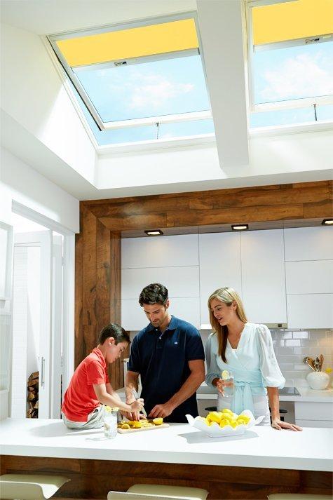 Interior Family in Kitchen