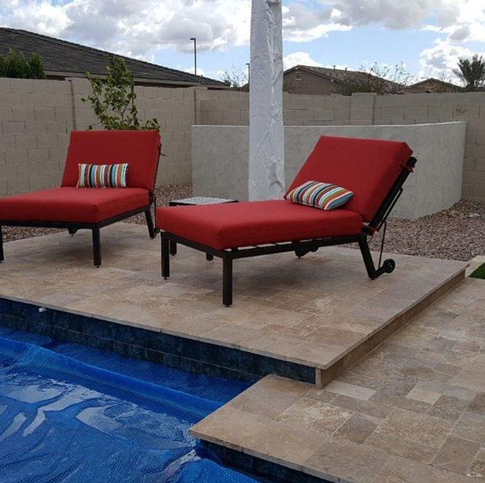 Pool Lounge cushions