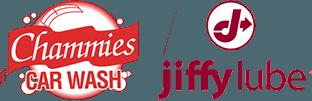 Chammies Car Wash - Jiffy Lube - Logo