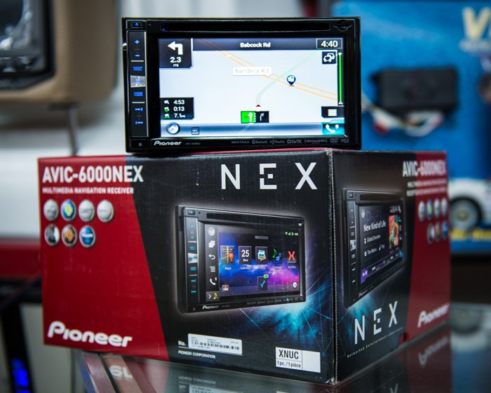 Nex touch screen system