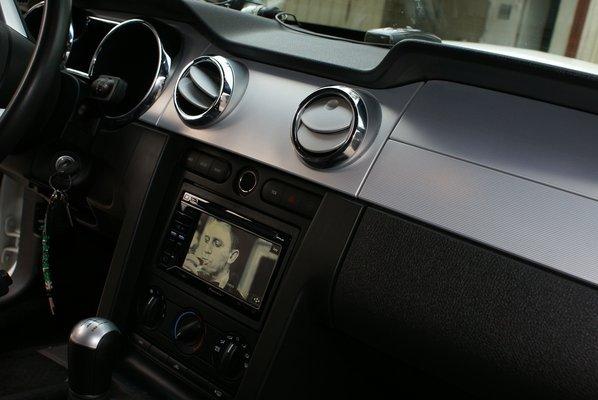 car dash board