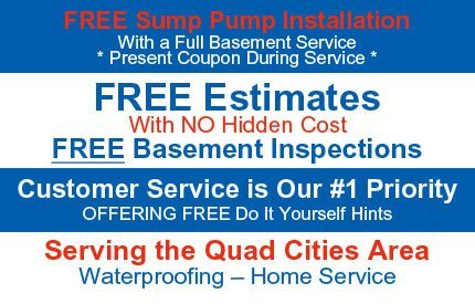Waterproofing Contractor / Foundation and Concrete Contractor  - Davenport, IA  - Iowa / Illinois Basement Waterproofing and Home Services